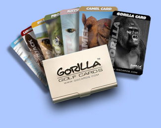 Gorilla Golf Cards